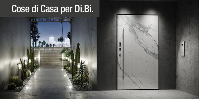 Di.Big – La porta blindata a bilico con apertura elettronica