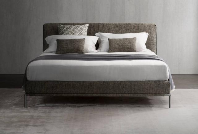 Accoglienti e morbidi i letti tessili al salone del - Camere da letto flou ...
