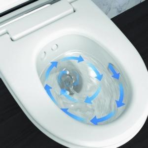 Geberit TurboFlush per un'eccellente pulizia del vaso