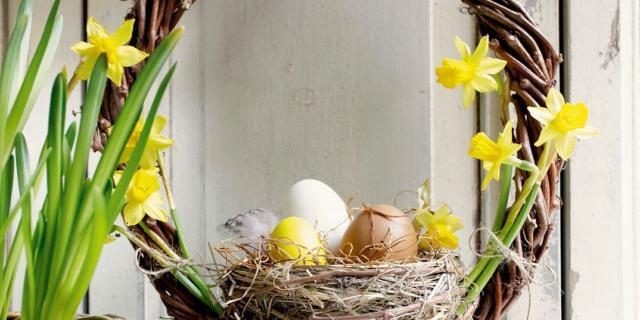 La ghirlanda di Pasqua
