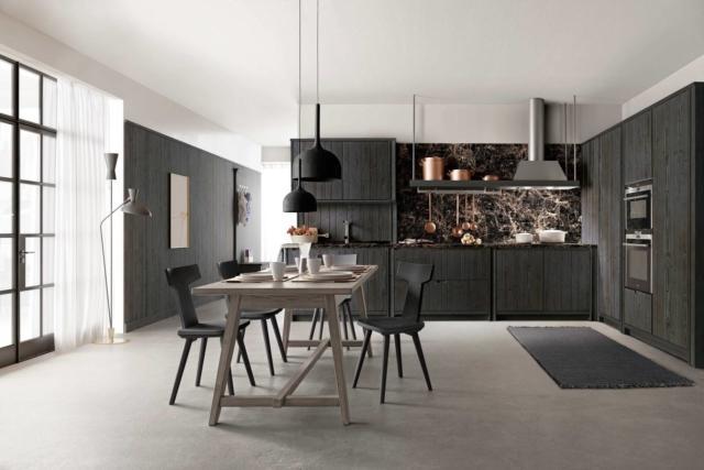 scandola Mobili cucina_marmo_nero Eurocucina 2018