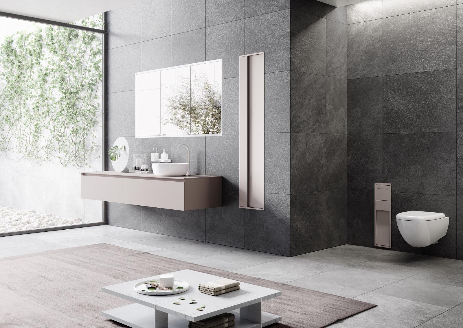 Mobili per il bagno al salone del bagno 2018 funzionali e - Mobili del bagno ...