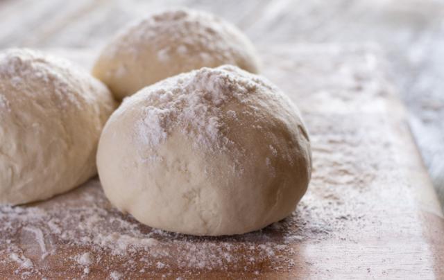 Dough Balls on wood