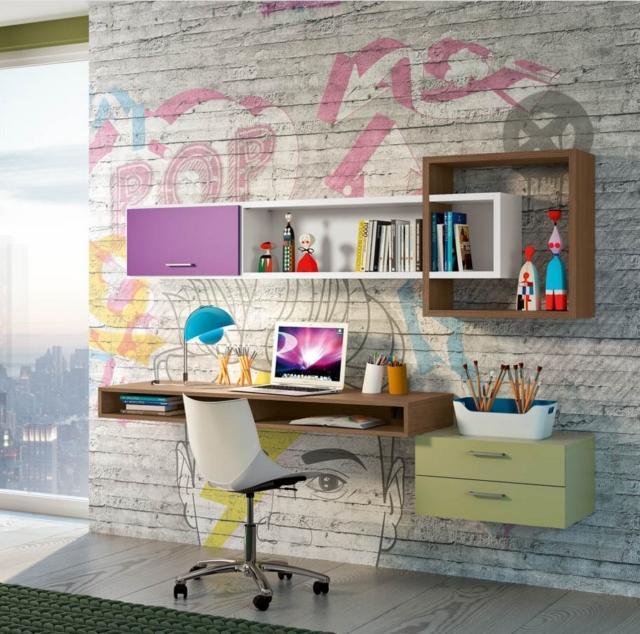 817 ferrimobili-scrivania cameretta