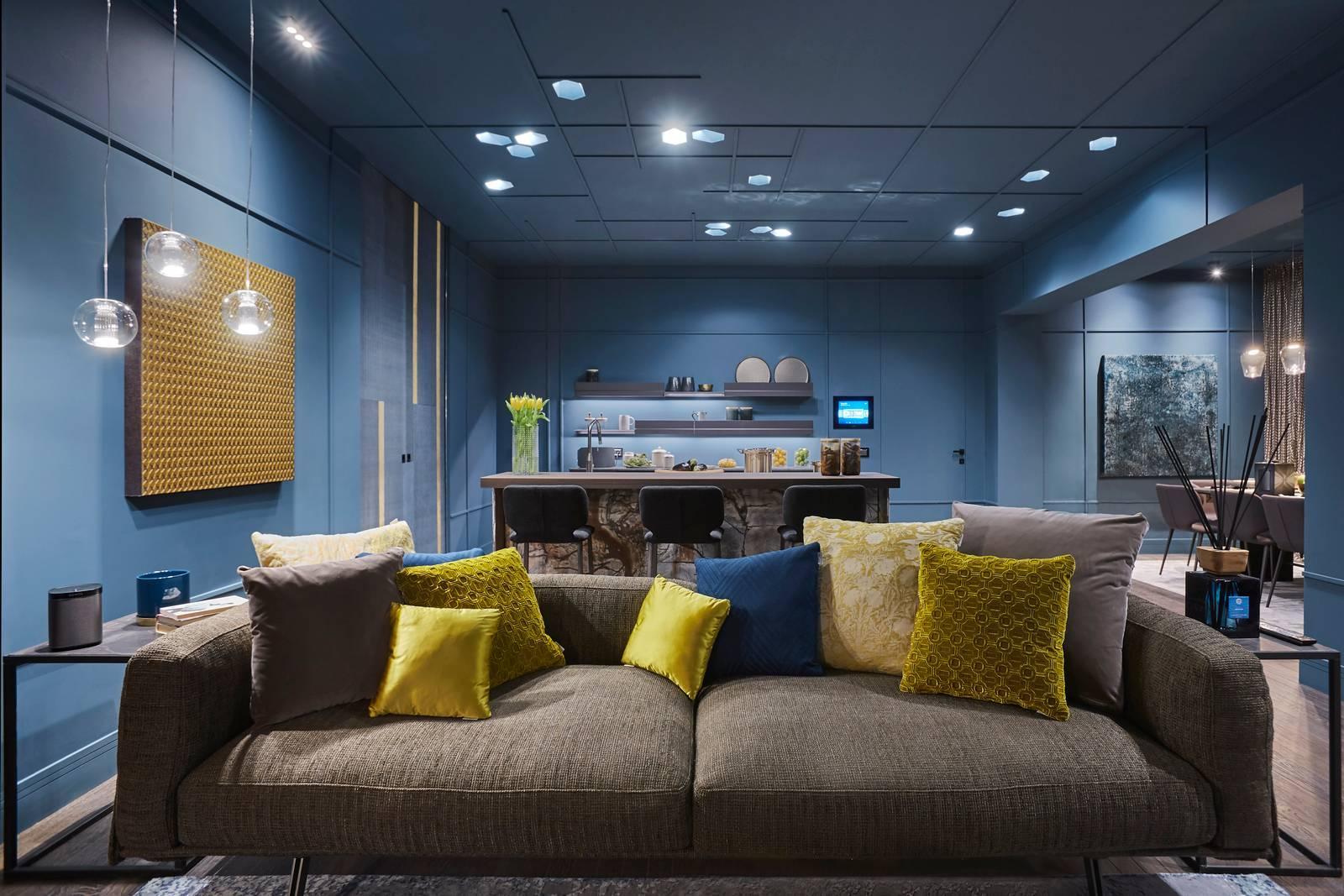 Andrea castrignano al fuorisalone 2018 con l 39 attico roof for Andrea castrignano colori pareti