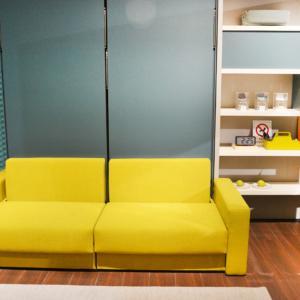 Prototipo divano trasformabile Ella & Louis di Clei