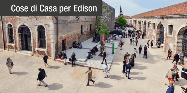 Edison debutta alla Biennale di Venezia