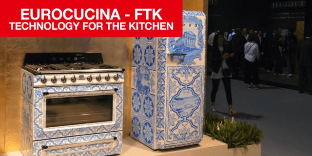 Sicilia protagonista in cucina: Smeg presenta a FTK gli elettrodomestici con decori artistici della tradizione