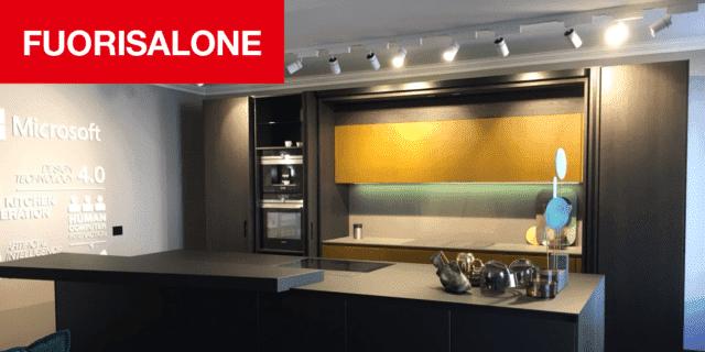 La cucina intelligente 4.0 al Fuorisalone di Milano