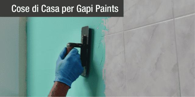 Rinnovare in modo facile e veloce con stucchi, vernici, smalti Gapi Paints