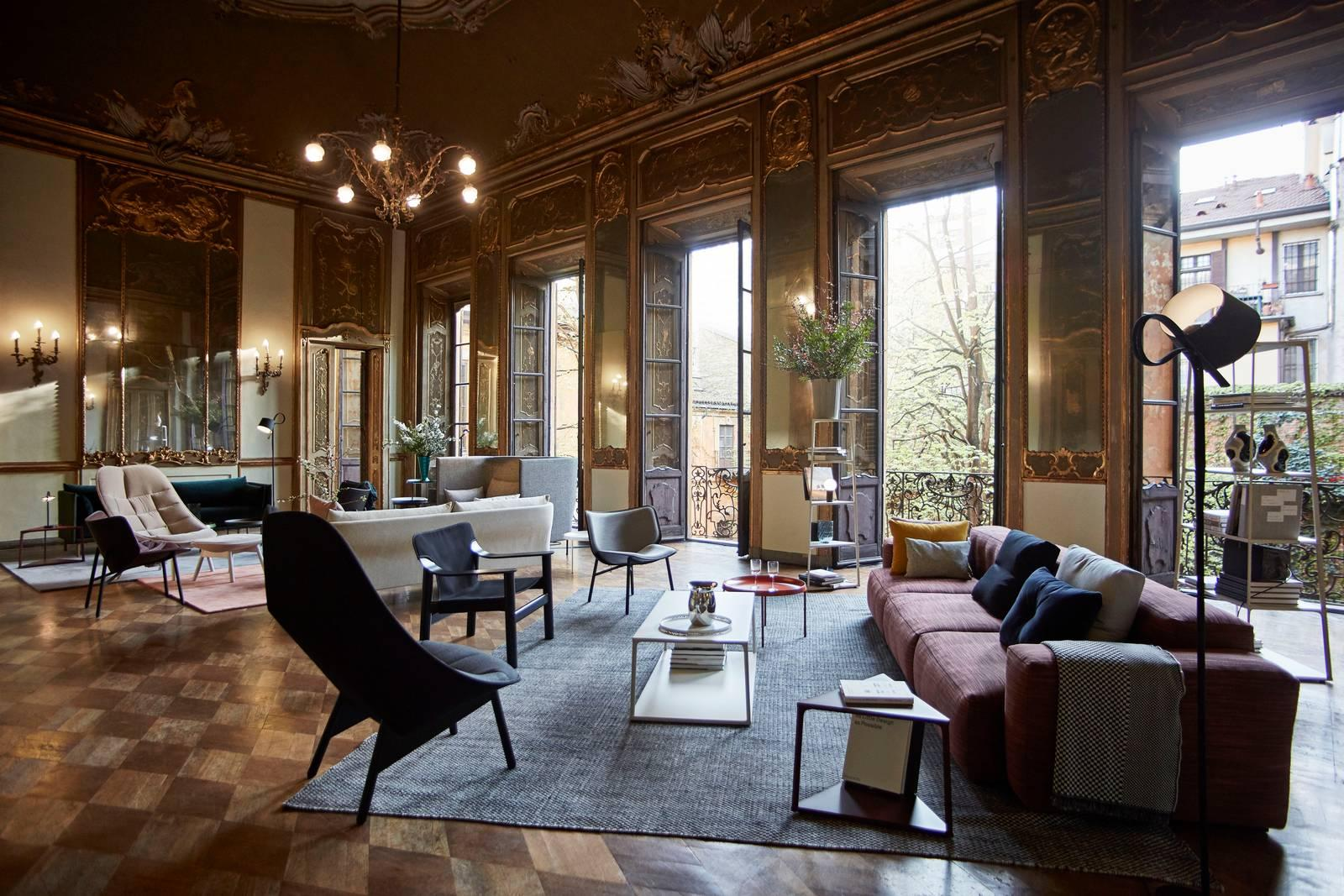 Hay a palazzo clerici mix tra antico e moderno cose di casa for Hay design milano
