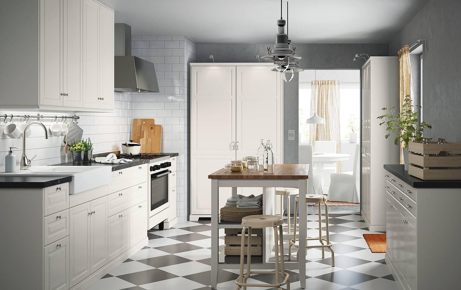 Progetti: 3 modi di vivere la cucina. open space parzialmente