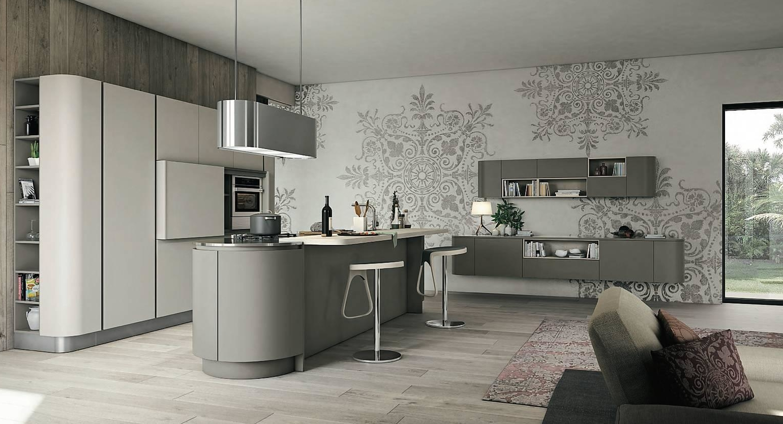 Camera Ospiti Per Vano Cucina : Progetti: 3 modi di vivere la cucina. open space parzialmente