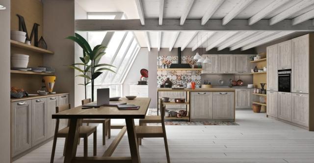 Progetti 3 modi di vivere la cucina open space for Modi di arredare