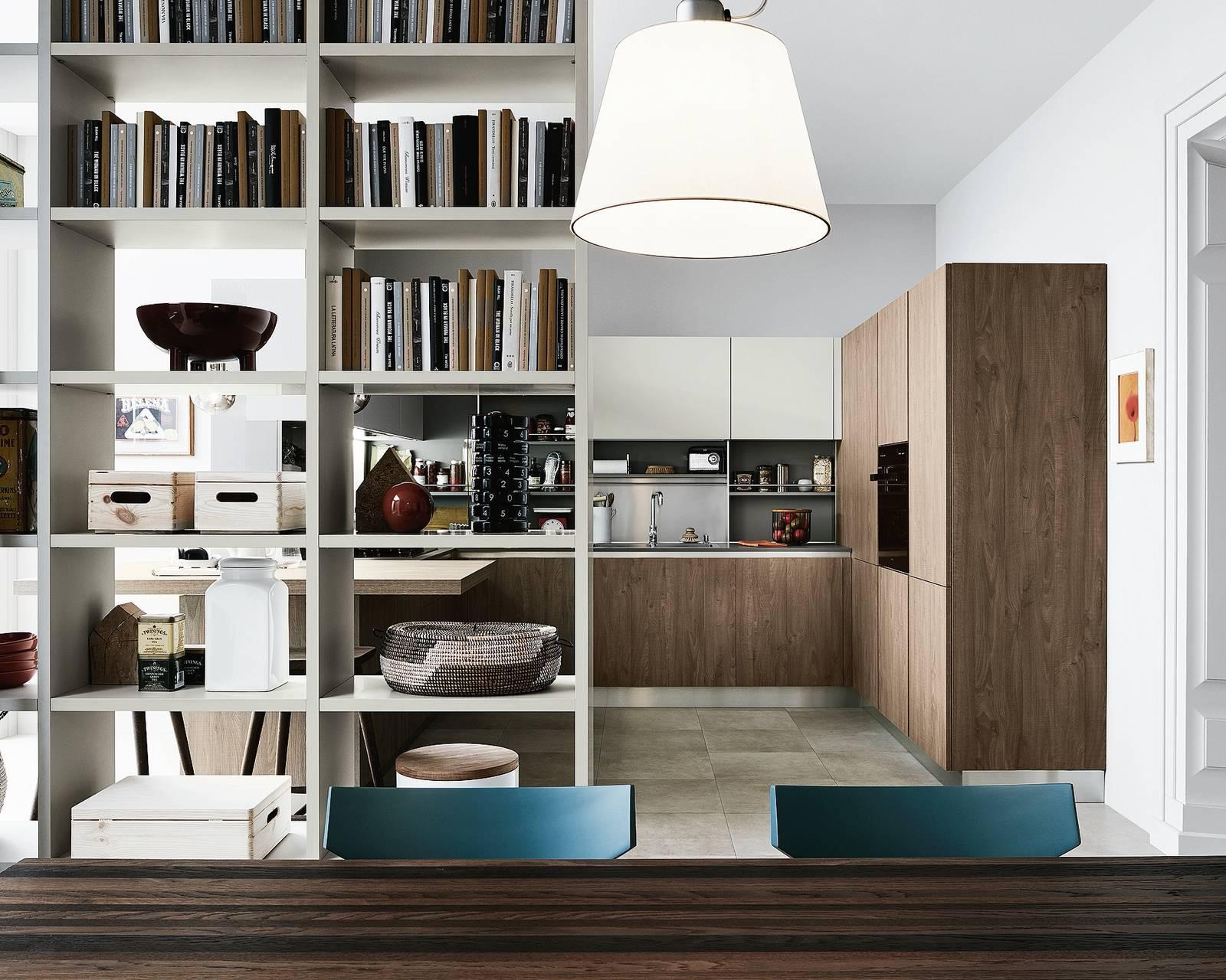 Ingresso Aperto Su Soggiorno progetti: 3 modi di vivere la cucina. open space