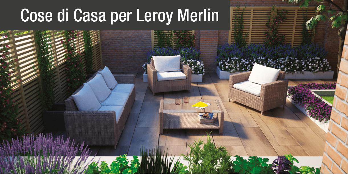 Arredo esterno salotti per tutti gli stili cose di casa for Arredo esterno leroy merlin