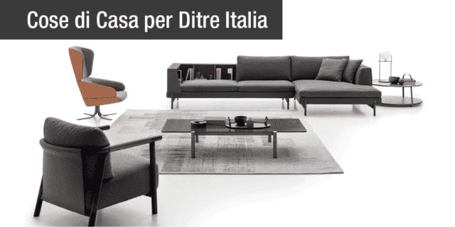 Ditre Italia disegna un nuovo landscape per la zona living
