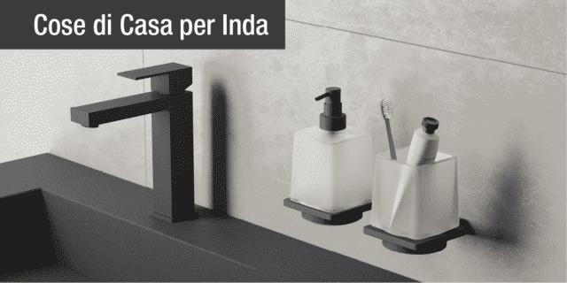 I nuovi accessori bagno firmati Inda