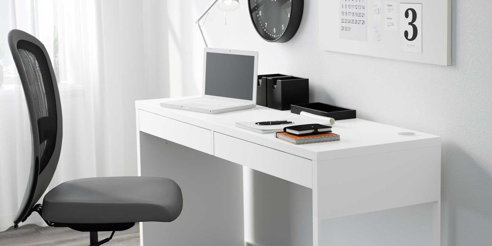 Scrivania Con Cassettiera Ikea scrivania per la cameretta o lo studio: 16 modelli comodi e