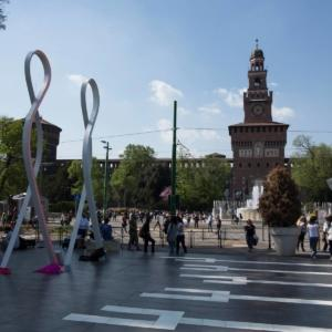 Inhabits 2018 a Piazza Castello