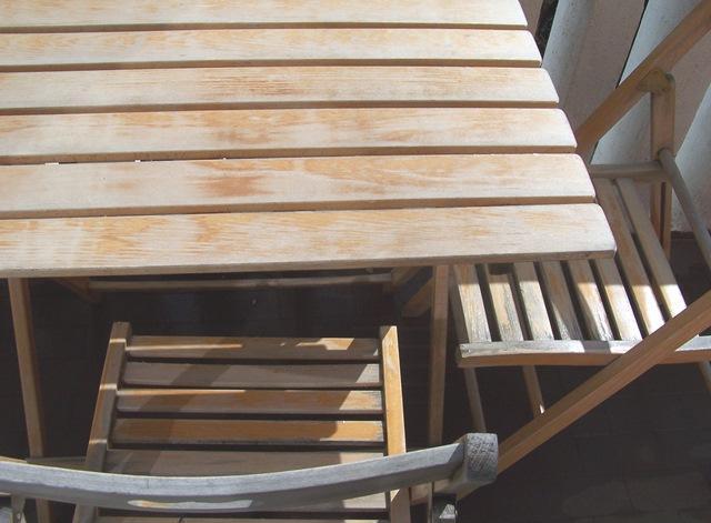 Un tocco di colore per dipingere tavolo e sedie in legno cose di