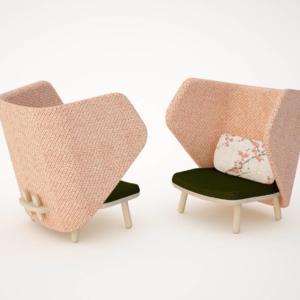 Ikkoku di Blifase, design studio Carlesi/Tonelli, è la nuova poltrona con una forma particolarmente accogliente sottolineata dal grande schienale avvolgente. La struttura è realizzata in legno di faggio; la seduta e lo schienale sono in multistrato tappezzato. www.blifase.it