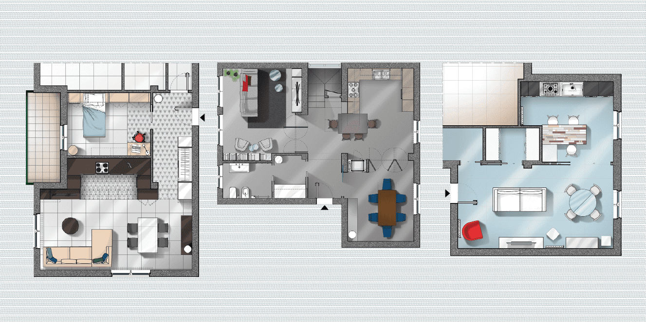 Progetti 3 modi di vivere la cucina open space parzialmente aperta separata cose di casa - Open space cucina salotto ...