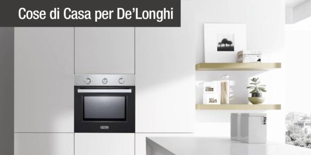 nuovi forni a incasso Professional De'Longhi Cookers