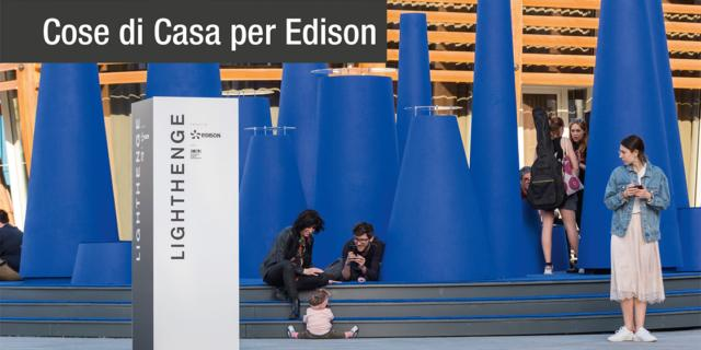 Con LightHenge Edison porta il futuro dell'energia nell'Innovation Design District