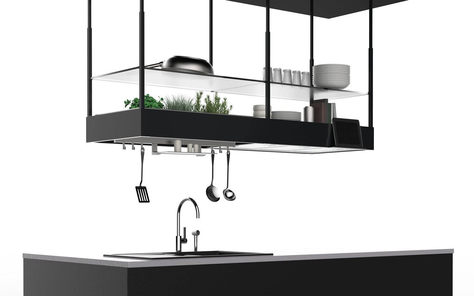 In cucina la cappa come elemento d 39 arredo le novit ad for Cappa cucina design