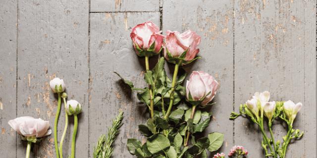 Una composizione fiorita per la festa della mamma