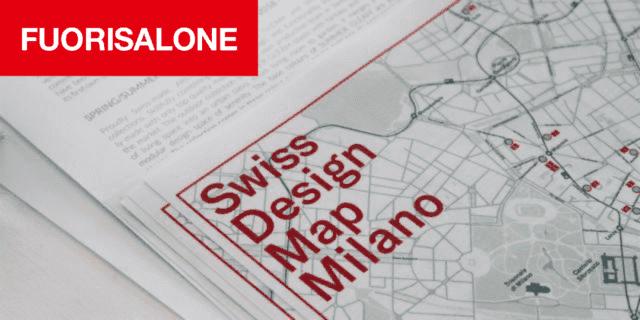 Swiss Design Map Milano: la mappa dedicata al design svizzero alla Milano Design Week