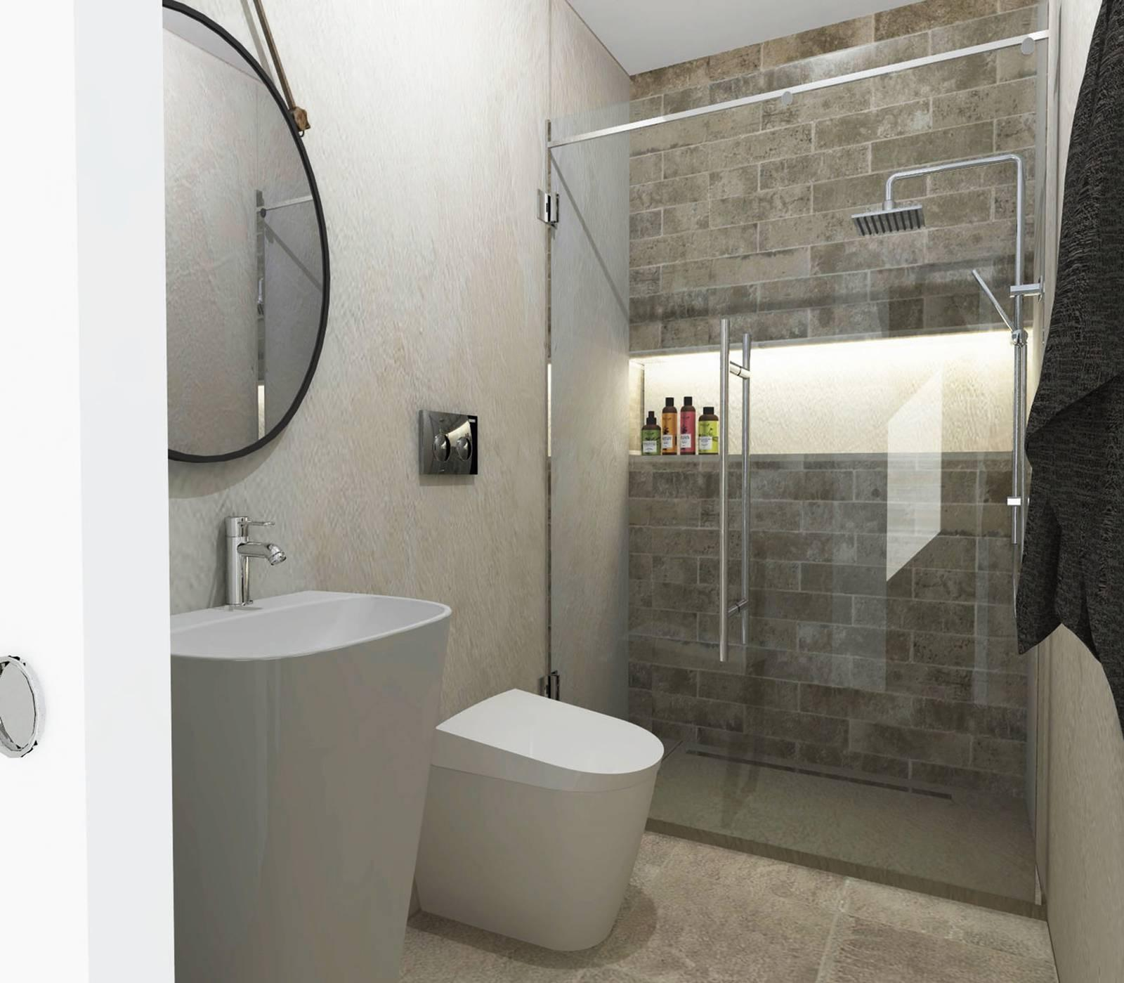 Lavori in casa ristrutturare il bagno mini con maxi for Bagno 6 mq