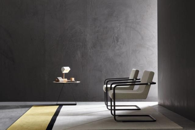 Retrò Lounge di Sitland, design Sergio Bellin, è la nuova poltrona dal sapore vintage che ha la struttura in acciaio che abbraccia completamente la seduta. La forma ergonomica garantisce il massimo confort; il sedile e lo schienale sono in poliuretano flessibile e indeformabile. Misura L 65,5 x P 69 x H 76 cm.  www.sitland.com