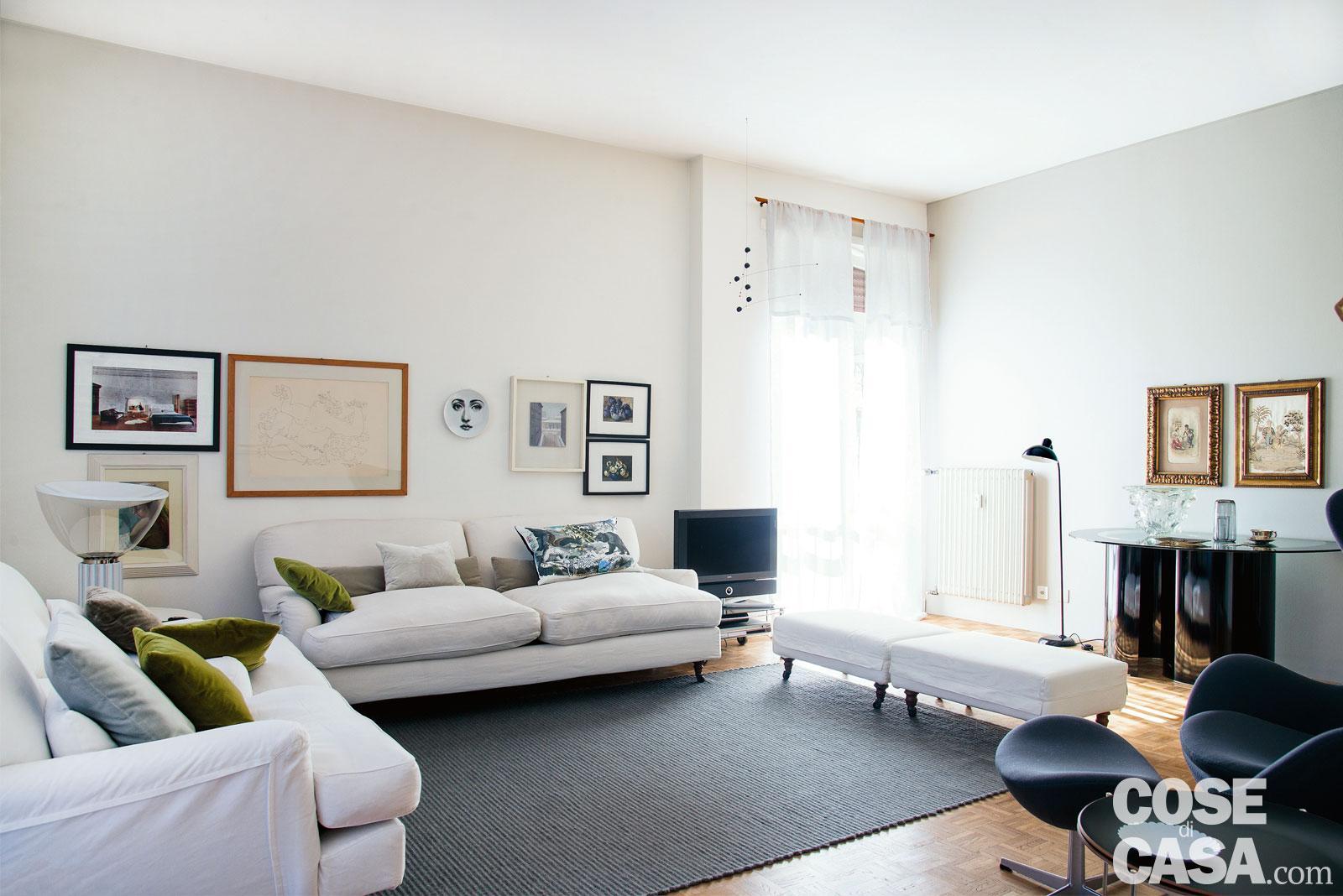 89 Mq Arredati Con Pezzi Iconici Del Design Cose Di Casa