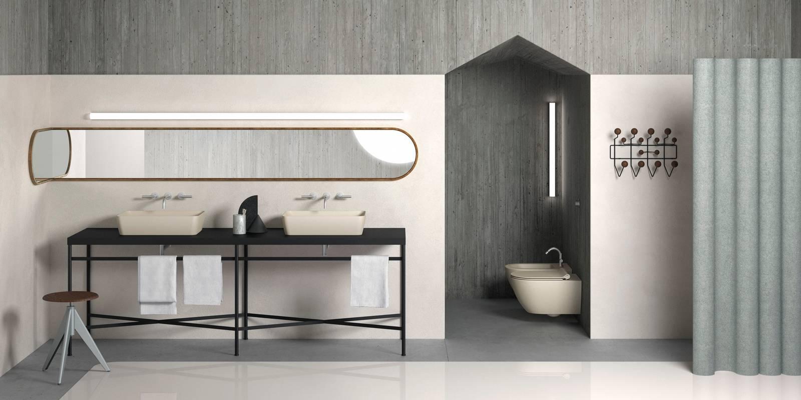 Bagno: colore e finitura opaca per lavabi e sanitari Color Elements ...