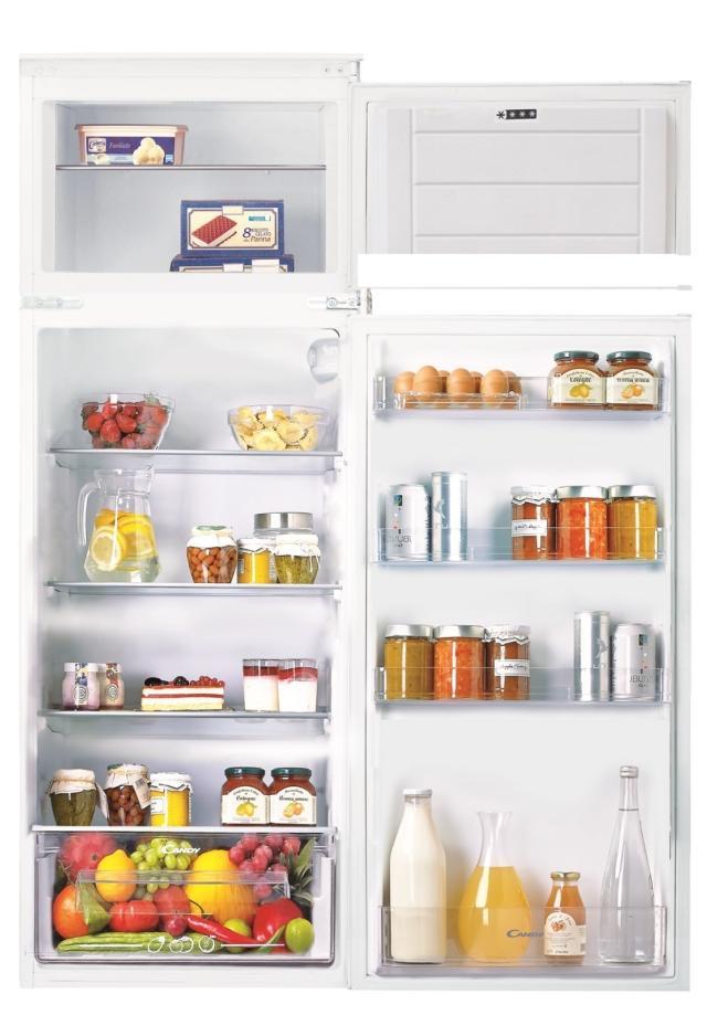 1candy CFBD2450 2E frigoriferi doppia porta