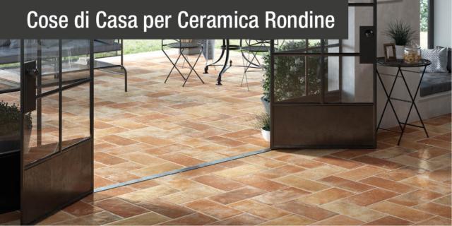 L'eleganza del cotto scolpita nel gres porcellanato: ecco Tuscany di Ceramica Rondine