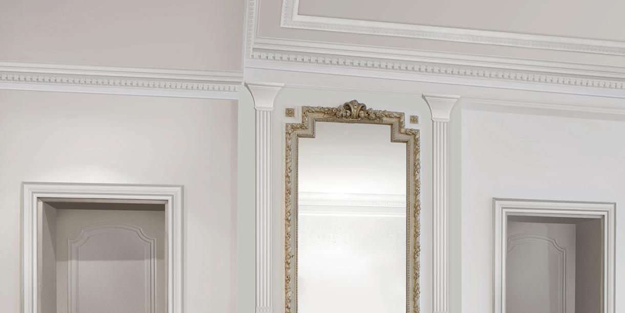 Decori in polistirolo per valorizzare la casa cose di casa - Cornici finestre in polistirolo ...
