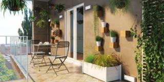 Balcone, terrazzo, giardino: come organizzare gli spazi esterni