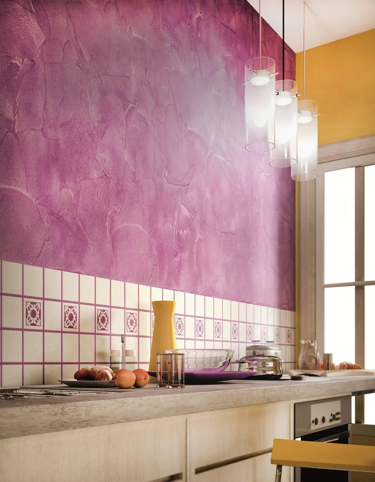 Colori Perlescenti Per Pareti ritorno al decor: una parete colorata può fare la differenza