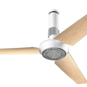 Abbinamento Bianco-Rovere nel Ventilatore VORTICE NORDIK AIR DESIGN.