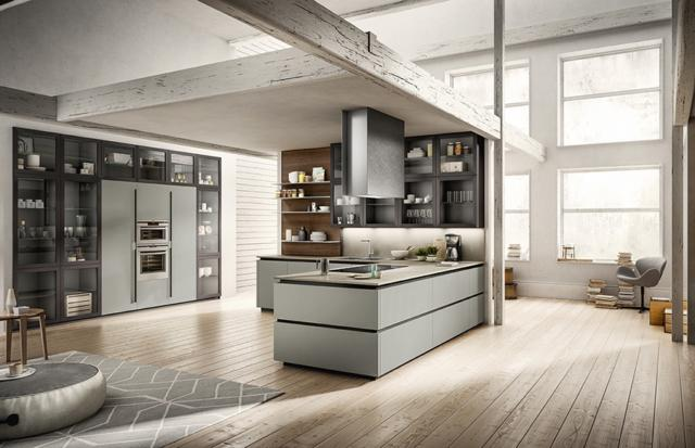 arredo3 3a_zetasei_md cucina con frigorifero incassato