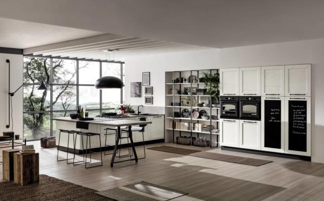 Banco snack la cucina contemporanea anche e soprattutto questo cose di casa - Cucina con bancone ...