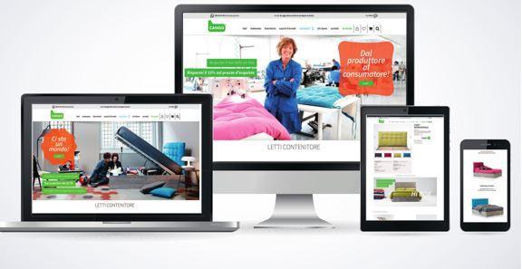 Scegliere il letto contenitore con un click: Noctis lancia la piattaforma e-commerce Cangù
