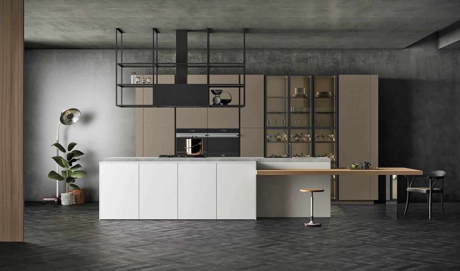 Speciale cucina focus sulla cappa che arreda cose di casa - Cappa cucina bianca ...