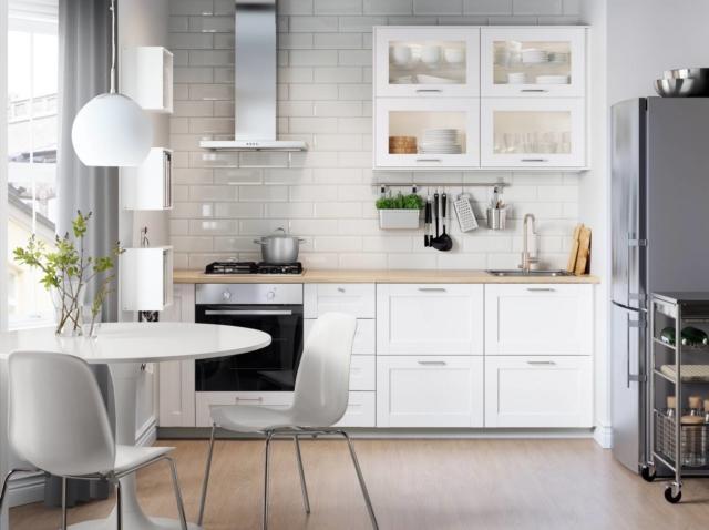 ikea PH144532 cucina con frigo freestanding