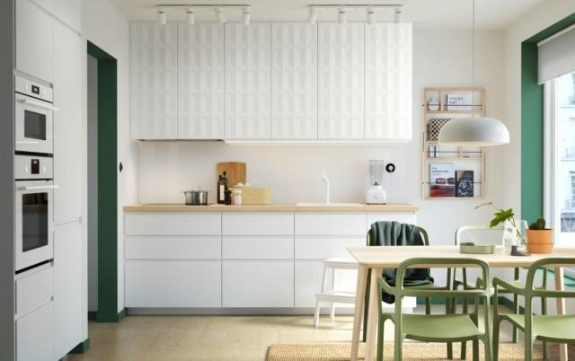 ikea PH146645 cucina con frigorifero incassato