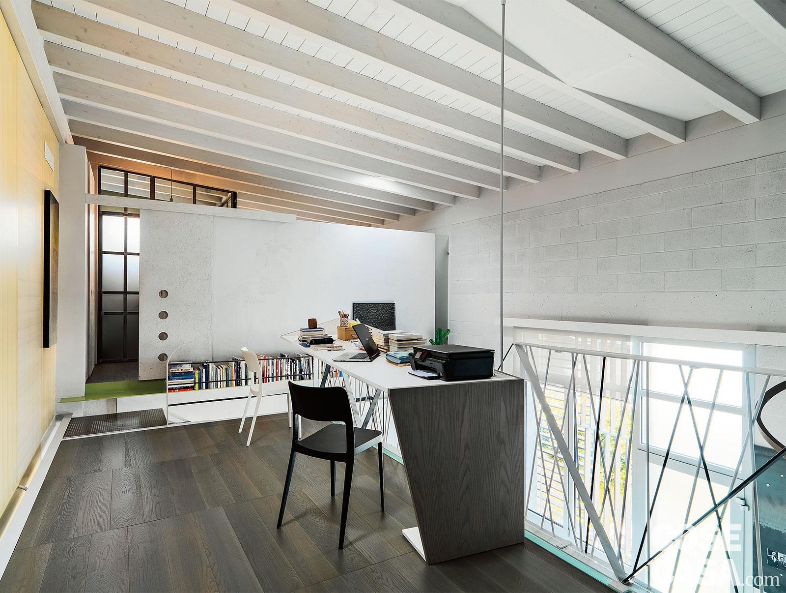 Camera Da Letto In Prospettiva Centrale 60+38 mq ben sfruttati con un nuovo livello e la scala