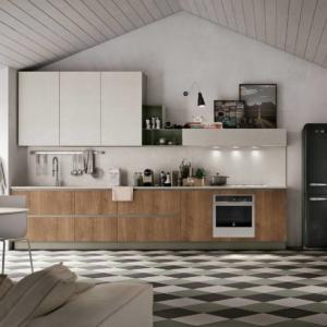 La cucina con il frigorifero freestanding un evergreen cose di casa - Conforama brescia cucine ...